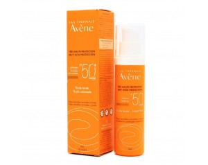 Avene Fluido Coloreado 50+SPF.