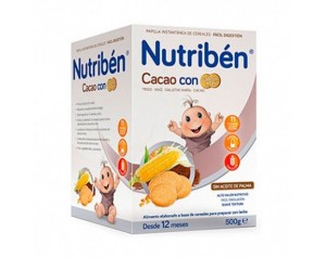 Nutriben Cacao Con Galletas...