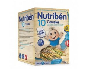 Nutribén 10 Cereales 600 gr.