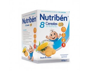 Nutribén galleta 8 cereales...