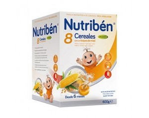 Nutribén 8 cereales y miel...